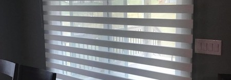 Designer Banded Shades - One Shade, Layers of Light