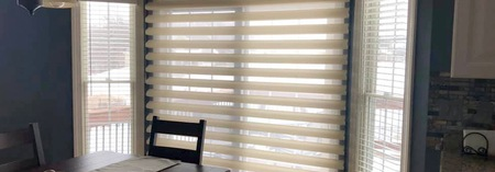 Pirouette & Wood Blinds Mixed Styles