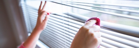 What's the best way to clean blinds?