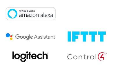 PowerView Compatible Systems | Alexa | Google Assistant | Nest | Logitech | IFTTT | Control4