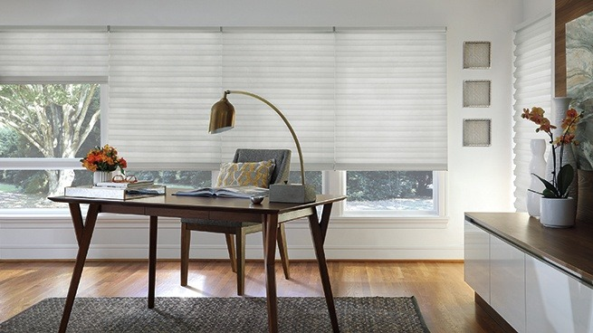 Window Treatments for the Home Office